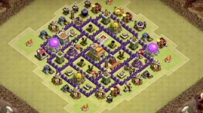 Base Clash Of Clans Town Hall 7 Terbaik 2017 Androidkuma Androidkuma