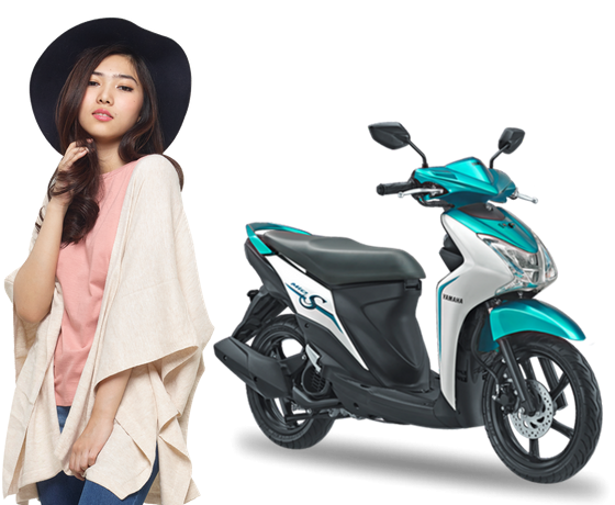 Usung ban tubless dan lebar, Yamaha Indonesia resmi rilis MIO S 125cc Blue Core