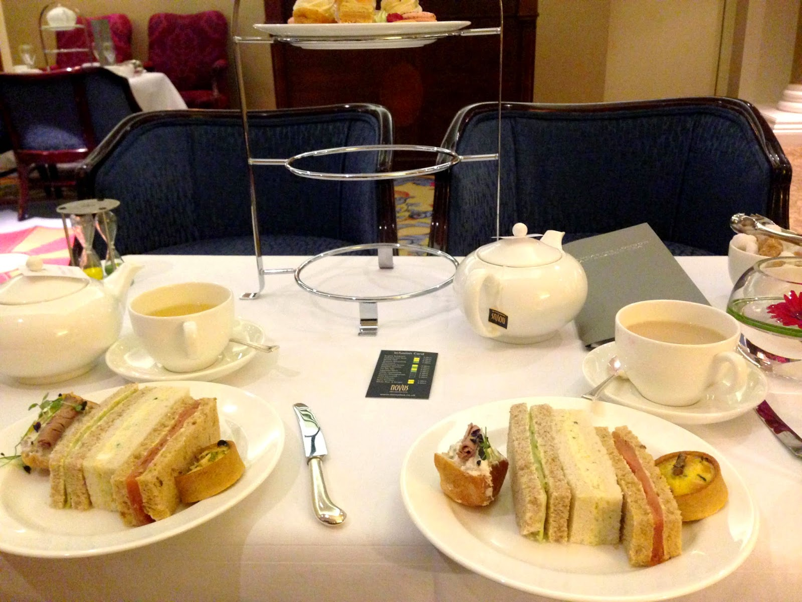 Sandwich selection afternoon tea