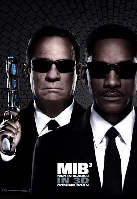Men in Black 3 MIB Tommy Lee Jones and Will Smith Poster Agent K and Agent J