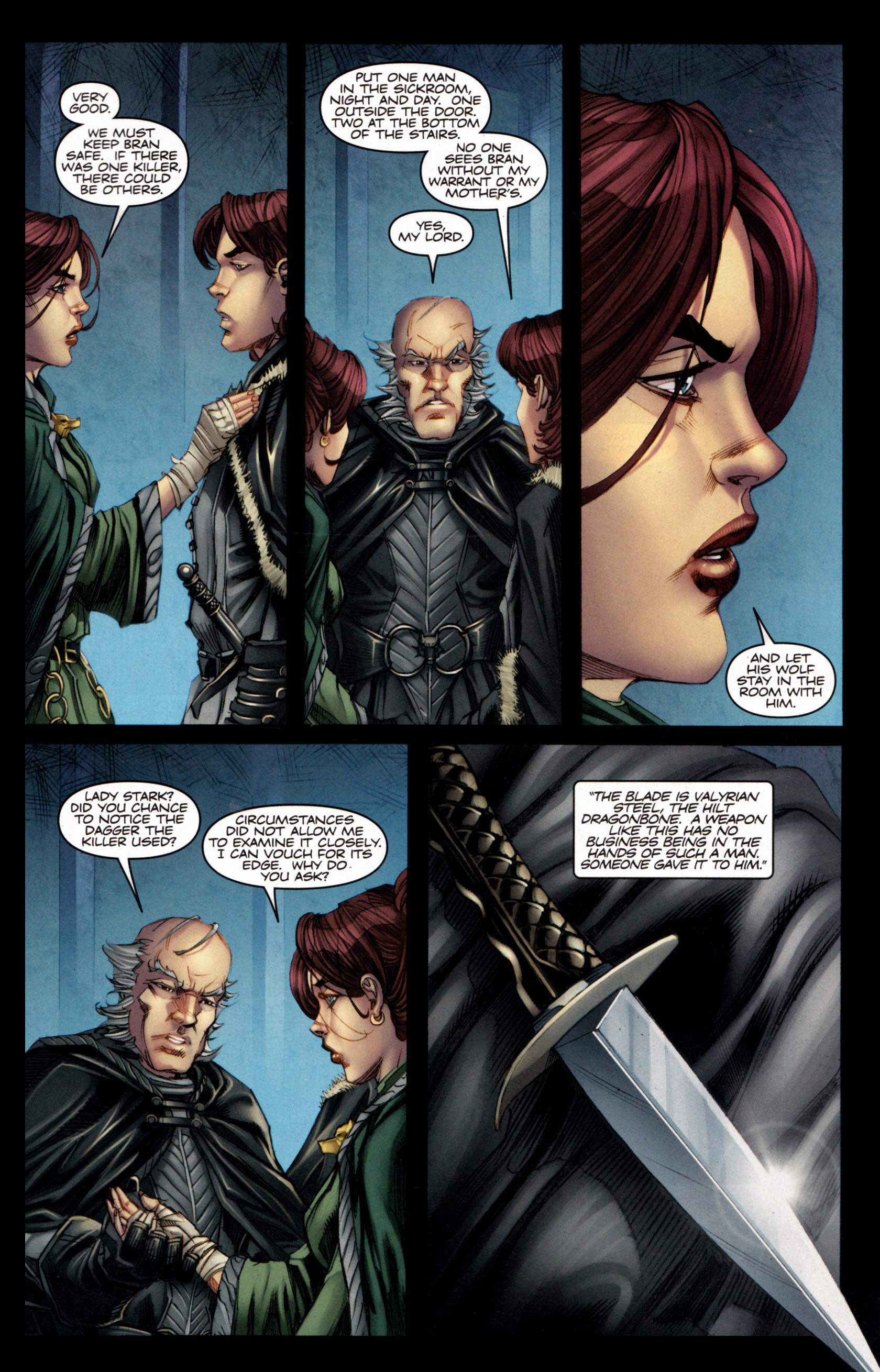 Read online A Game Of Thrones comic -  Issue #4 - 29