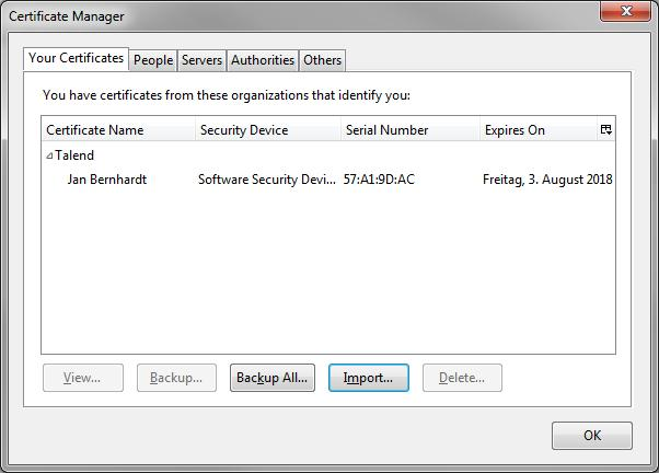 Lessons Learned: Apache Fediz with Client Certificate Authentication ...