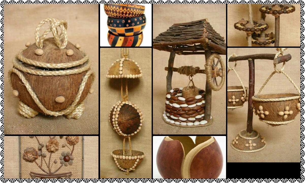 Coconut Shell Craft Ideas