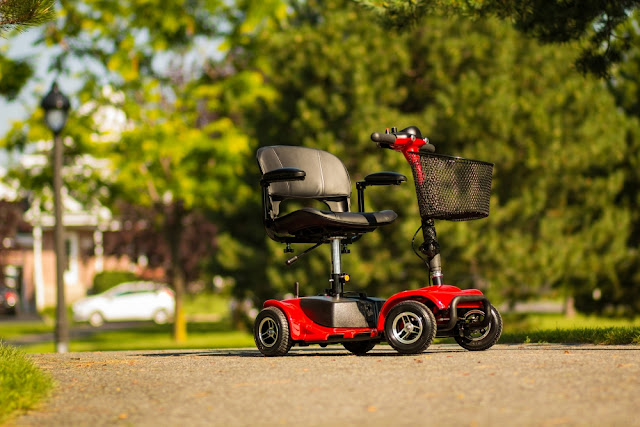 4 Wheel Electric Scooter for Adults