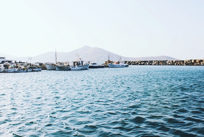 Charming fishing village of Naoussa Paros