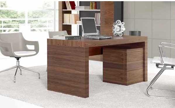 Arte h bitat tu tienda de muebles mesa ku 27 de nogal for Muebles nogal yecla