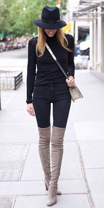 Knee High Boots Are Trending