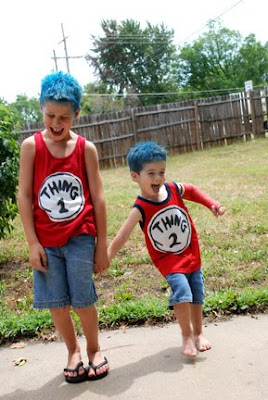 Thing 1 Thing 2 Dr. Seuss