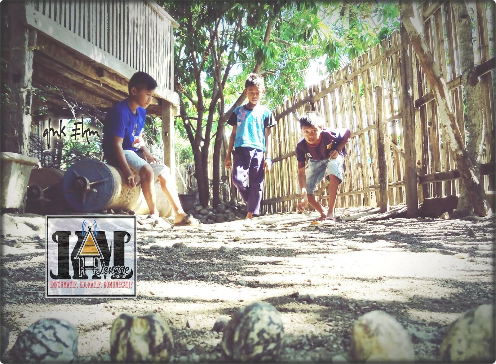 Kampung Media Lengge Wawo Oro Kaleli Permainan Tradisional Sarat Makna