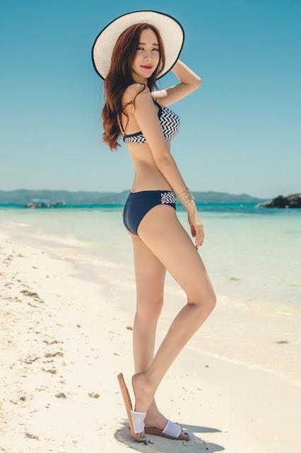 2 Hyemi - Bikini Set- very cute asian girl-girlcute4u.blogspot.com