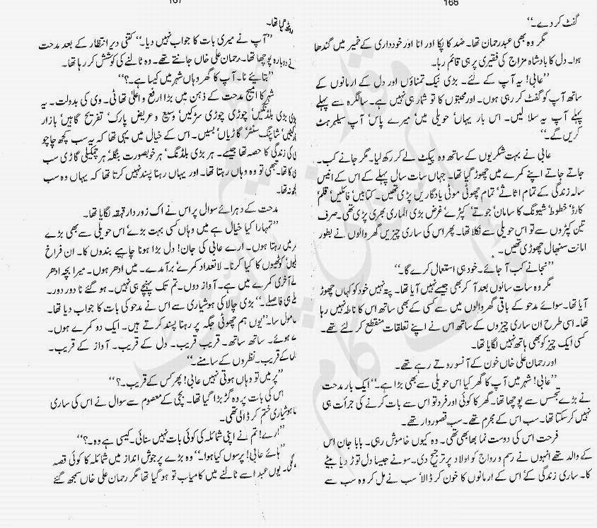 Kitab Dost: Dil ki chokhat per novel by Salma Kanwal