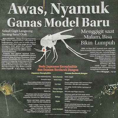 Betulkah, Nyamuk Model Baru?