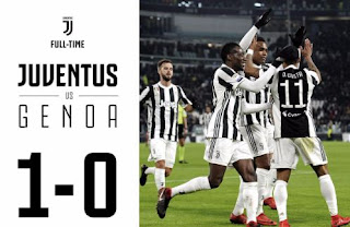 Juventus vs Genoa 1-0 Highlights