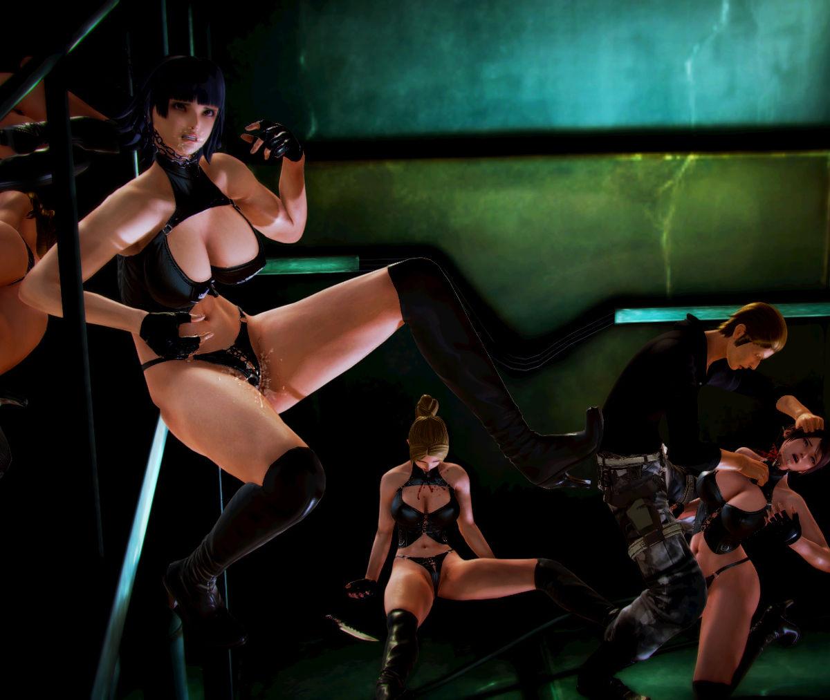 Hình ảnh 007 in Truyện Hentai 3D Nữ chiến binh Ryona