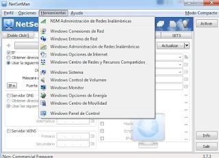 برنامج, التحكم, فى, اعدادات, شبكة, الانترنت, وإدارتها, NetSetMan, اخر, اصدار