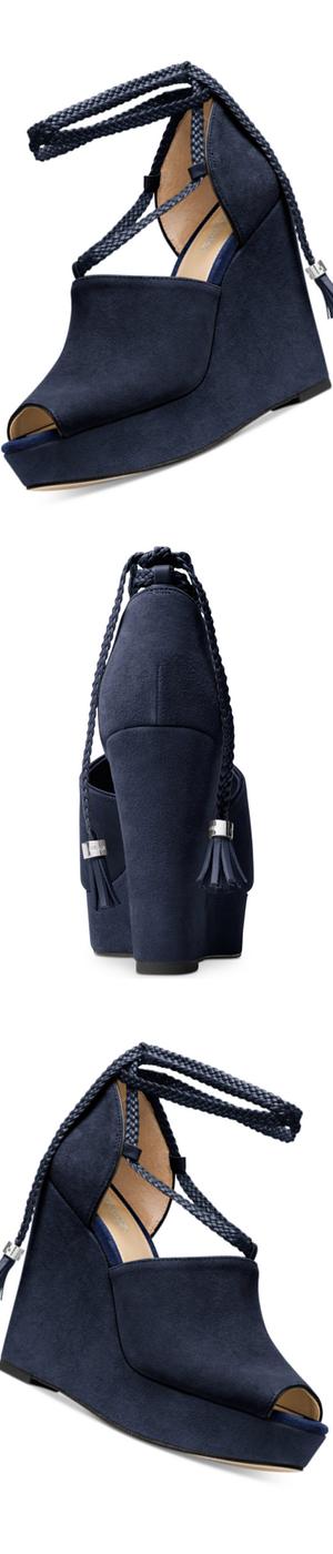 MICHAEL Michael Kors Hastings Wedge Sandals