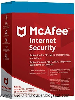 McAfee Internet Security 2019 free for 180 Days Activation Link