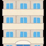 マンションのイラスト(建物)
