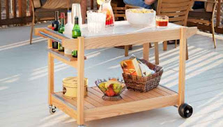 DIY Outdoor Entertainment Cart