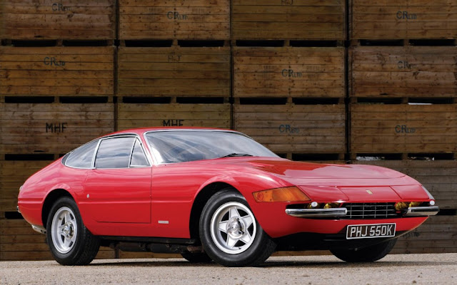 Ferrari Daytona 1960s Italian classic supercar
