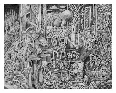 The Acrobats David Welker Print