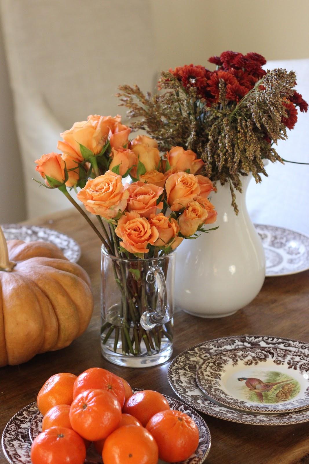 Jenny steffens hobick diy thanksgiving centerpiece for Centros de mesa con frutas