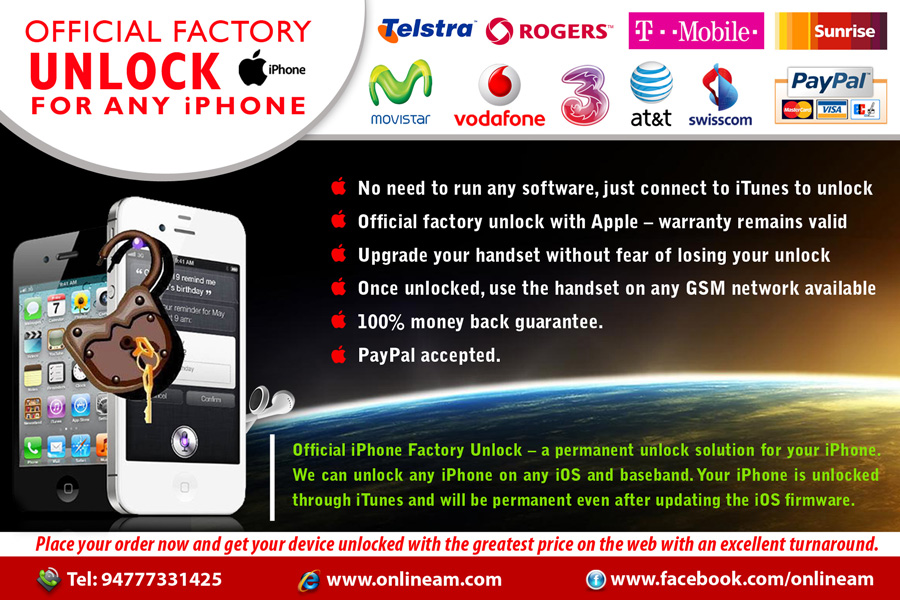 Best Email Campaign sender in Sri lanka: iPhone Unlocking in
