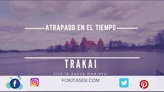 (Imagen) el castillo rojo de Trakai me atrevería a decir que es uno de los mejores castillos del mundo y el único de los castillos europeos que ha sido construido en una isla