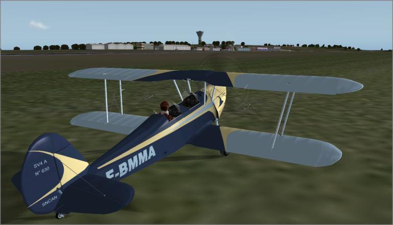 Urban's X-Plane experience: Stampe Limoges - Egletons