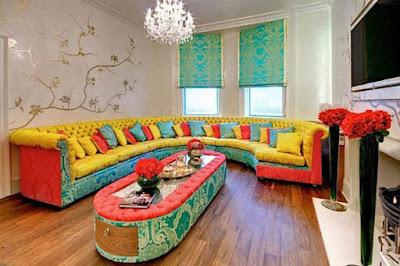 Inspirasi Untuk Desain Interior Yang Cerah Full Color
