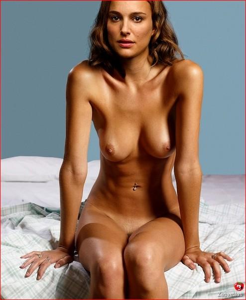 Натали Портман голая грудь