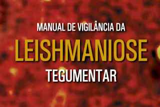 CAPA DO MANUAL DE VIGILÂNCIA DE LEISHMANIOSE TEGUMENTAR