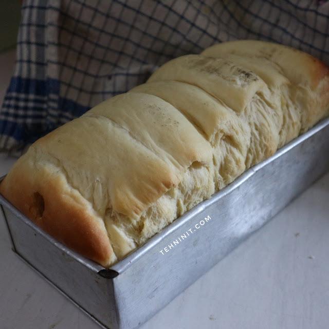 roti lembut pakai mikser tangan