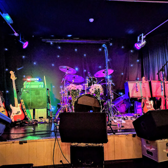 Dublin Days Out: the stage at Purty Kitchen in Monkstown