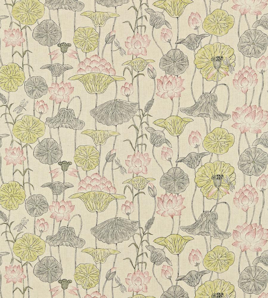 Hwfd Lotus Flower Print Fabric Free Download Wallpaper 900 X