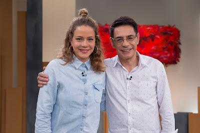 Leandra Leal e Cunha Jr. - Foto: Nadja Kouchi
