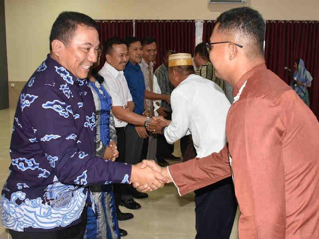 Antongan Simatupang Lakukan Halal Bihalal ke Sejumlah FKPD Provinsi Maluku