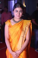 Shalini Pandey in Beautiful Orange Saree Sleeveless Blouse Choli ~  Exclusive Celebrities Galleries 040.JPG