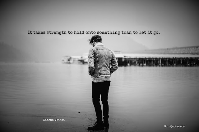 Holding On Quotes