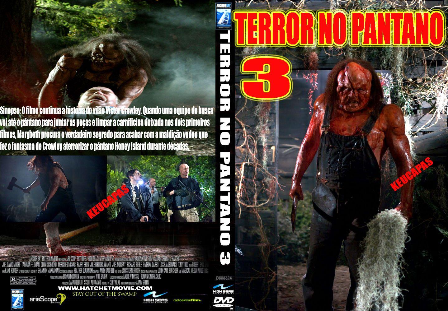 terror no pantano 3 dublado