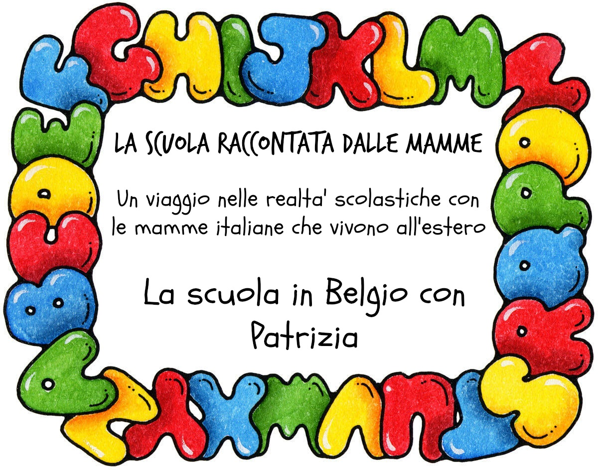 La scuola primaria in belgio raccontata da patrizia for Scuola clipart