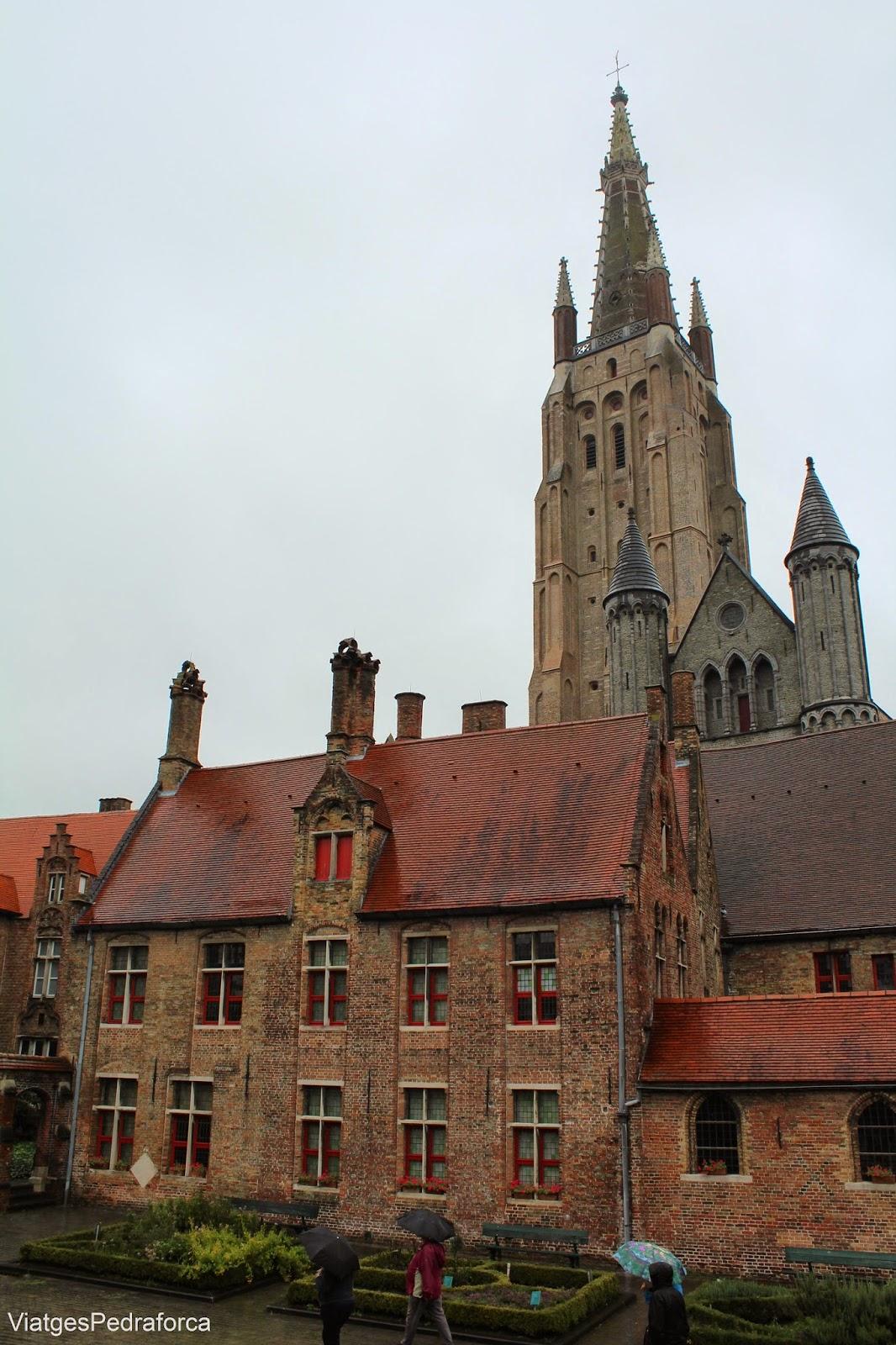 Nostra Senyora de Bruges, Onze-Lieve-Vrouwekerk Brugge, Flandes, Belgica
