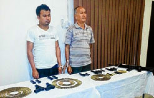 Suspected United Gorkha Peoples Organization Terrorists Arrested
