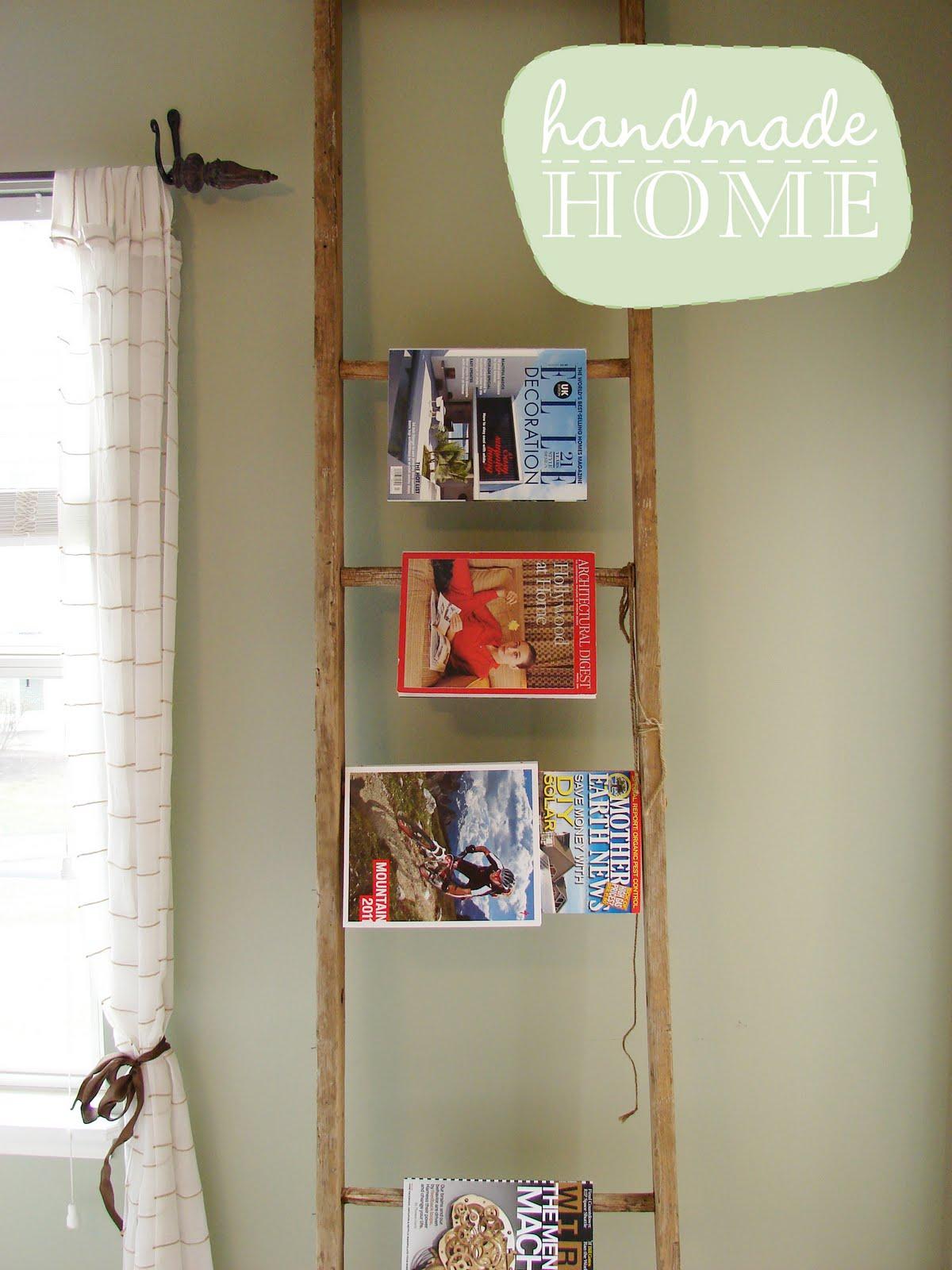 Posies Amp Plume Handmade Home Upcycle Diy Ladder
