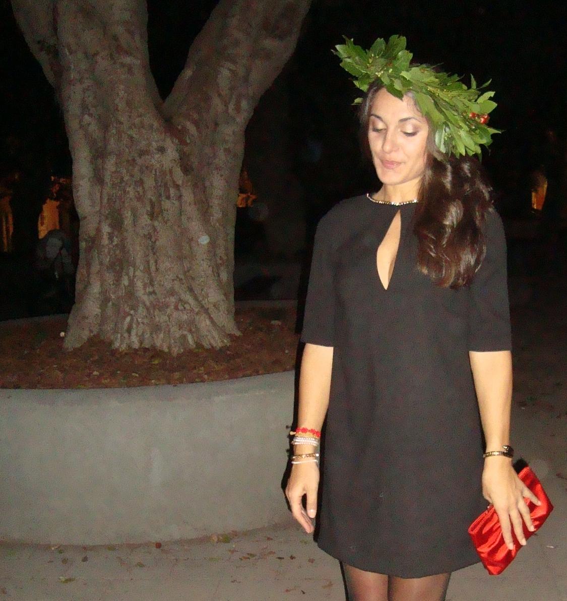 Popolare STYLEGRAM: NONSOLOMODA#4: LITTLE BLACK DRESS IN SALSA ROSSO LAUREA MC52