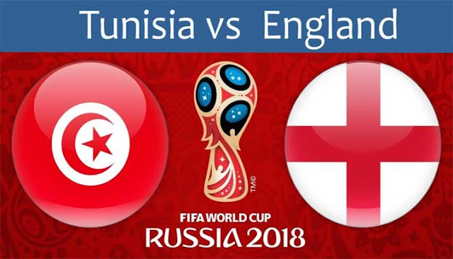 ENGLAND VS TUNISIA LIVE STREAM 19 JUNE 2018