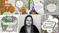 meus livros de colorir colorindo arte arteterapia terapia arte-terapia anti-estresse anti estresse stress pintar pintando jardim secreto floresta encantada johanna basford oceano perdido