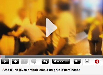 http://www.324.cat/video/5345131/Atac-duns-joves-antifeixistes-a-un-grup-ducrainesos