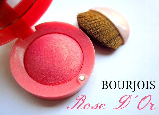 Picture of Bourjois Little Round Pot Blush in Rose D'Or 34