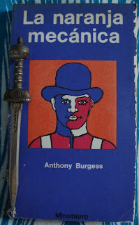 Portada del libro La naranja mecánica, de Anthony Burgess